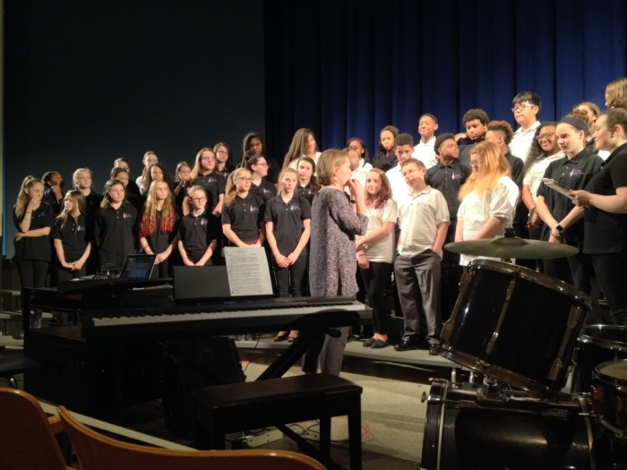 Chorus Performs at Catonsville HS Showcase