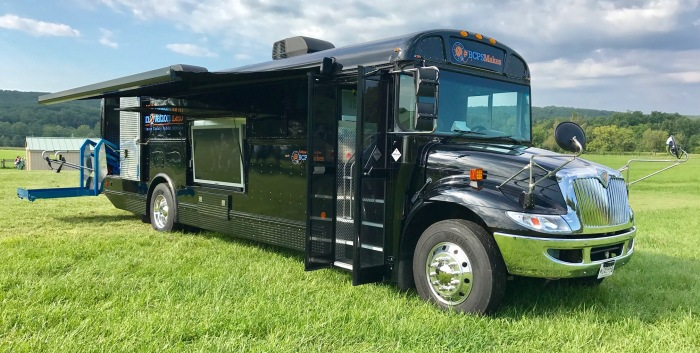Photo of the BCPS Mobile Innovation Lab.
