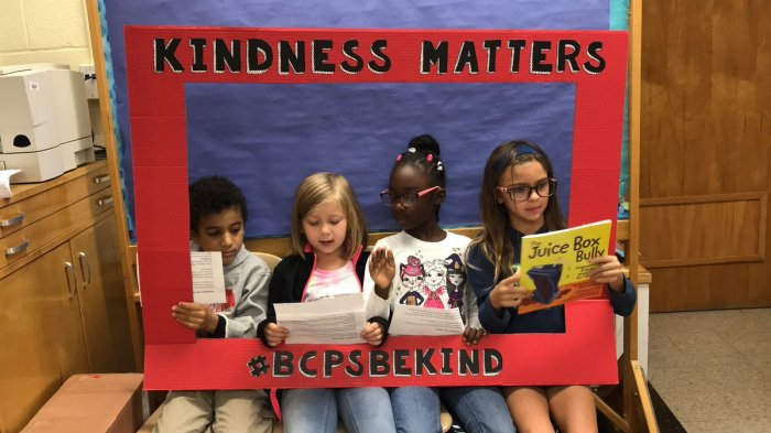 Kindness matters photo from Gunpowder Elementary