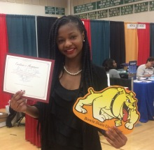 Photo of Milford Mill Academy Grade 12 student Milani Fallin