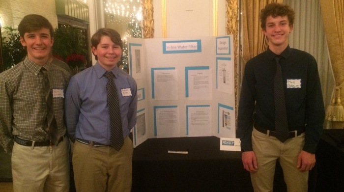 Hereford High engineering students present.