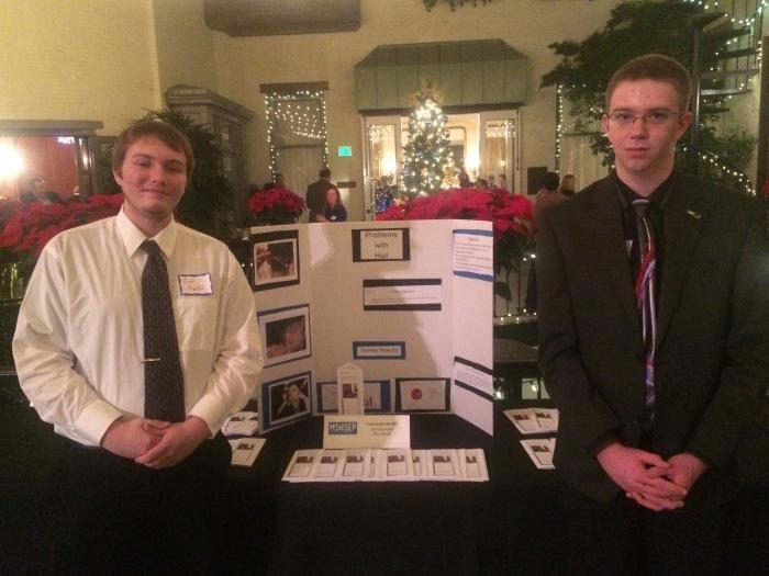 Catonsville High School student presenters